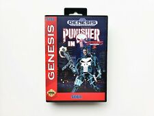 The Punisher in Streets of Rage 2 SEGA Genesis - Fan Made Mod Game USA Seller