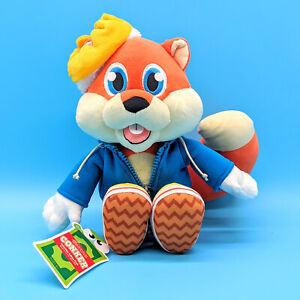 Official Conker Talking Plush w/ Crown from Conkers Bad Fur Day *SHIPS NEXT DAY*