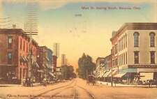 Bucyrus Ohio Main Street Looking South Antique Postcard J46099