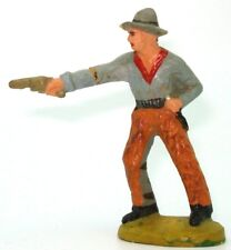 TIPPLE TOPPLE 80MM COMPOSITION COWBOY FIGURE - RARE