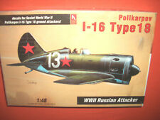 1/48 Hobbycraft 1577, Polikarpov I-16 Type 18 WWII Russian Attacker