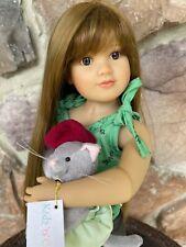"Kidz n Cats Doll 18""-Sonja Hartmann- ADORABLE"
