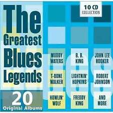 Various - Greatest Blues Legends The NEW CD
