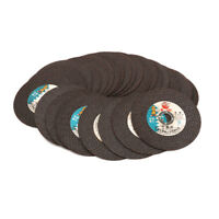 "100mm 4"" Resin Cutting Disc Angle Grinder Discs Metal Cut Off Wheel  Blade 25Pcs"