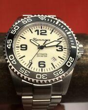Kemmner White Turtle Full Lume Dial 42mm Swiss ETA Automatic 2824-2 German 200m