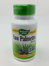Nature's Way Saw Palmetto Berries Dietary Supplement 585 mg 100 Capsules
