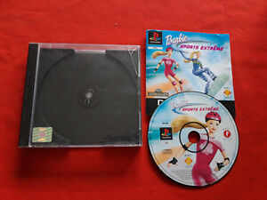 Barbie SPORTS Extreme PS1 PLAYSTATION 1 Pal VF Boxed