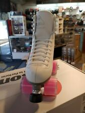 High top Rollerskate Jackson boots with viper outdoor wheels Size7 Women's