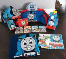 Thomas & Friends Toddler Toy Lot RC Train Piggy Bank Plush Hat Bedroom Decor +