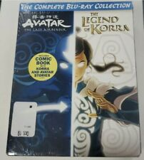 New Avatar the Last Airbender Legend of Korra Complete Collection Blu-Ray
