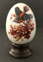 Vintage Avon Four Seasons Porcelain Egg Series AUTUMNS Magic Changes NEW