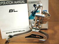 New-Old-Stock Suntour BL (Black) Front Derailleur...Clamp-On (28.6 mm) Model