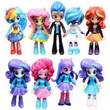 US 9PCS Set New My Little Pony Equestria Girls Figures 12cm Monster High Dolls