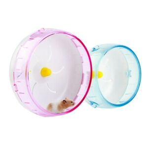 Hamster Guinea Pig Running Disc Cage Accessories Running Round Wheel Pet Toy