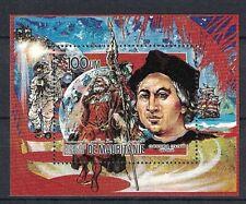 MAURITANIA:1986 SC#608 S/S MNH Christopher Columbus