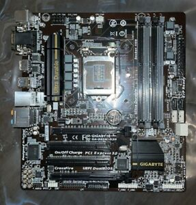 GIGABYTE GA-B85M-D3H Motherboard LGA1150 Intel B85 DDR3 HDMI VGA DVI - Free Ship