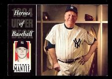 MICKEY MANTLE 1994 Upper Deck All Time Heroes #222