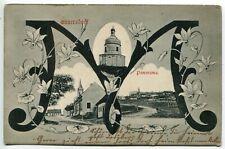 1906 Austria Mannersdorf am Leithagebirge,rare multiple view