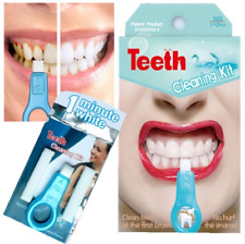 Pro Nano Teeth Whitening Kit Cleaning Strips Pen Whitener Brush Tooth Stains HOT