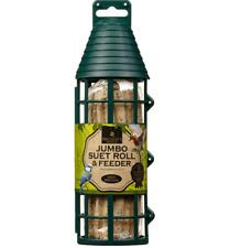 Finchley's Fine Foods Outdoor Garden Jumbo Suet Log in Bird Feeder 450g