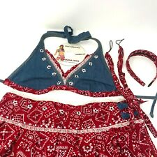 Country Cowgirl Halloween Costume for Women | Sexy Wild West Dress Up Outfit MED