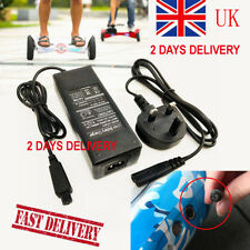 Fused UK Plug CE Approved Charger For Segway/Swegway/Hoverboard Balance Board UK