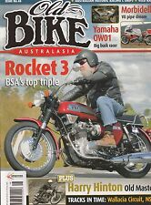 BSA Rocket 3  HARRY HINTON  Yamaha OW01  Morbidelli V8  Norvins  OLD BIKE 48