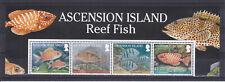 ASCENSION ISLAND MNH STAMP SET 2010 REEF FISH SG 1064-1067 STRIP OF STAMPS