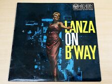 Mario Lanza/Lanza On Broadway/1956 RCA Red Seal LP