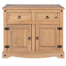 Quality 2 Door 2 Drawer Sideboard Living Room Corona Mexican PIne Furniture