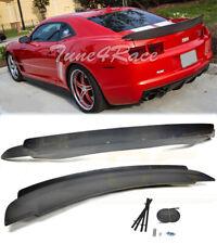 For 10-13 Camaro Rear Trunk Spoiler Wing ZL1 Style W/ Carbon Fiber Wicker Bill