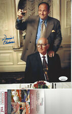 Sopranos Uncle Jr. Dominic Chianese autographed 8x10 photo with Tony S. Jsa Cert