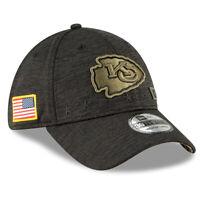 Kansas City Chiefs New Era 2020 NFL Salute to Service Sideline 39THIRTY Flex Hat