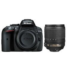 Nikon D5300 Digital SLR Camera Wi-Fi 24.2 MP Black + 18-105mm AF-S DX VR Lens