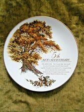5th Avon Anniversary Plate for Representatives 1992 22k gold trim