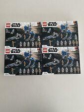 Lego 75280 x4 501st Legion Clone Troopers Star Wars New Sealed Free AU Post