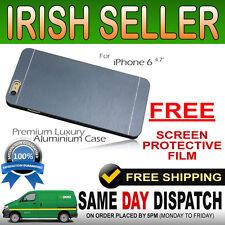 Metal Premium Luxury Brushed Aluminium Case Aluminum Alum cover for iphone 6 4.7
