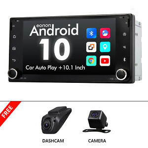 """DVR+CAM+7"""" For Toyota Corolla Android 10 Car Stereo Touch Screen GPS MP5 Player"""