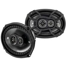 "Kicker 43CSC6934 6x9"" 3-Way Coaxial Car Audio Speakers 150w RMS"