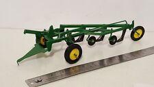 Ertl John Deere 4b plow 1/16 diecast metal farm implement replica collectable