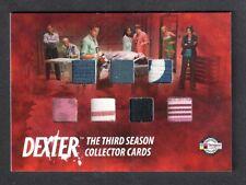 DEXTER SEASON 3 (Breygent) COSTUME CARD #D3 - CI CASE INCENTIVE Has Seven Pieces