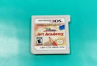 Disney Art Academy~Nintendo 3DS (Game Cartridge only, NO Case) FREE SHIPPING