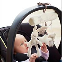 Hanging Baby Soft Toy Plush Animal Stroller Infant Bed Rattles Doll Play Rabbit