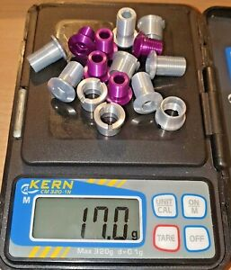Tune 10 Chainring Bolts + 5 Nuts 5 K1-3 Retro NOS Purple Retro