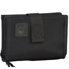 Civilian iWallet 2-In-1 Wallet And Phone-Case Nylon Tri Fold Card Purse Black
