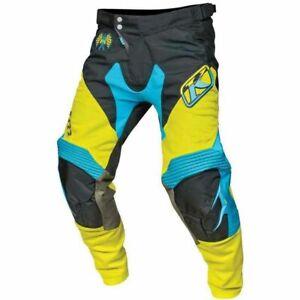 Klim XC Mens Motocross Pants-Green-34 5004-000-034-300 Open Package
