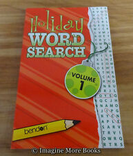 NEW Holiday Word Search Vol 1 ~ 75 Word-Find Puzzles per Volume