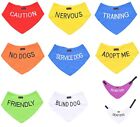 Dog Bandana Best Quality Price Personalised Message Neck Scarf Fashion Accessory