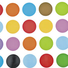 White background, Colour dots Wrapping paper,counter roll, gift wrap,500mm x 50m