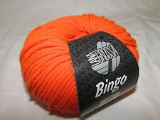 Lana Grossa Bingo 708 Neon orange 50g